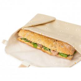 Wrap à sandwich éco Sunshine - Daisies