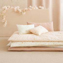 Futon Eden - Gold stella & Dream pink