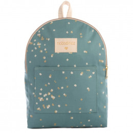 Sac à dos Too cool mini - Gold confetti & Magic green