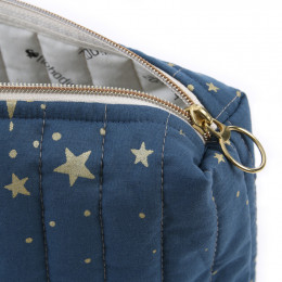 Trousse de toilette Travel - Gold stella & Night blue