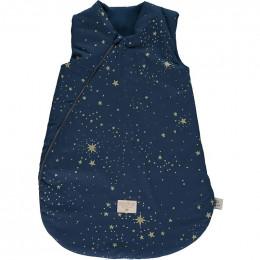 Gigoteuse mi-saison Cocoon - Gold stella & Night blue