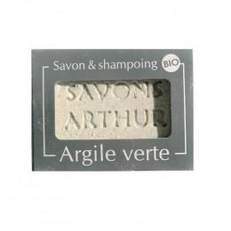 Savon et shampooing Bio - Argile verte - 100 g