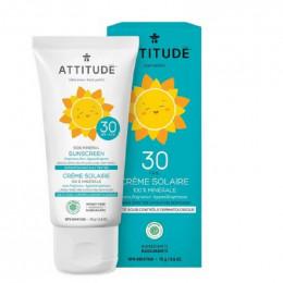 Tout-petits : crème solaire minérale SPF 30 sans parfum 75 g