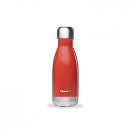 Bouteille isotherme en inox - Rouge brillant - 260 ml