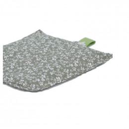Bouillotte en graines de lin et lavande - Vert