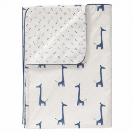 Parure de lit - Girafe indigo blue (100x135)