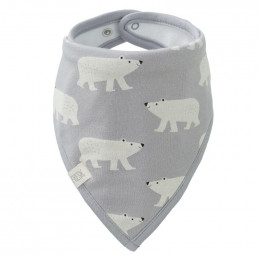 Bavoir bandana - Polar bear