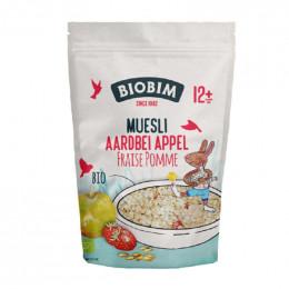 Muesli Bio - Fraise pomme - 150 g - à partir de 12 mois