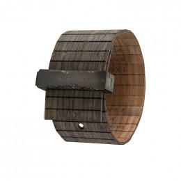 Bracelet en bois Talia Black Nut Gun