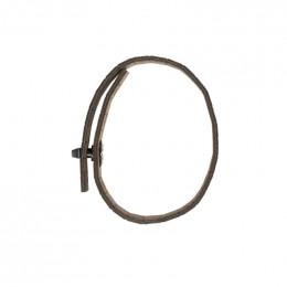 Bracelet en bois Gea Black Choco Gun