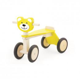 Tricycle en bois - Ours - à partir de 18 mois
