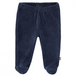 Pantalon bébé à pieds Indigo
