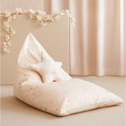 Pouf Essaouira - Gold Stella & Dream Pink