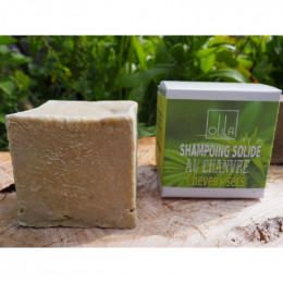 Shampooing solide - Chanvre - Cheveux secs - 75 g