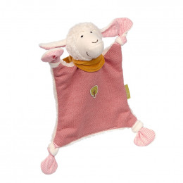 Doudou Nature - Mouton rose