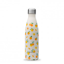 Gourde bouteille nomade isotherme - 500 ml - Oranges