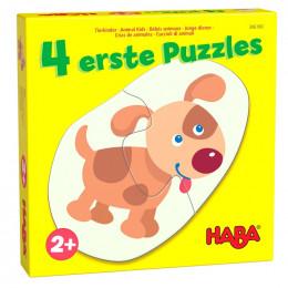 4 premiers puzzles - Bébés animaux