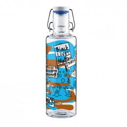 Bouteille en verre - 600 ml - Bye bye Happyland