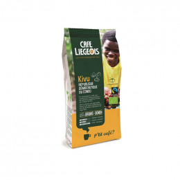 Café Bio et Fair Trade - Kivu en grains - 250 g