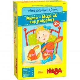 Mes premiers jeux - Mémo - Maxi et ses peluches