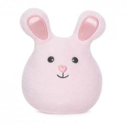 Mini hochet grelot Bunny - Rose