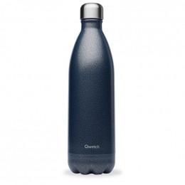 Gourde bouteille nomade isotherme - 1 litre - Roc bleu
