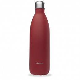 Gourde bouteille nomade isotherme - 1 litre - Granite rouge