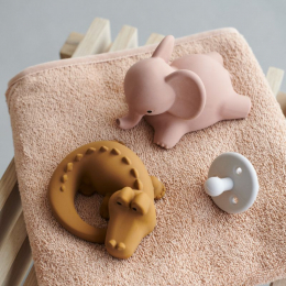 Set de 2 jouets de bain Vikky - Safari dark rose mix