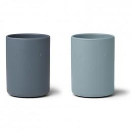 Set de 2 gobelets Ethan - Blue mix