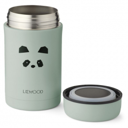 Pot alimentaire thermique Bernard - Panda peppermint