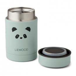 Pot alimentaire thermique Nadja - Panda peppermint