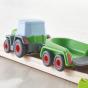 Kullerbü - Tracteur avec remorque