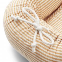 Nid bébé Gro - Y&D stripe: Mustard & white