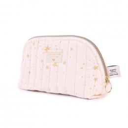 Trousse de toilette Holiday - Gold stella & Dream pink - small
