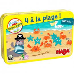 Jeu - 4 à la plage!