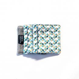 Pochette + 5 lingettes démaquillante en coton - 8 x 10 cm - Guniko