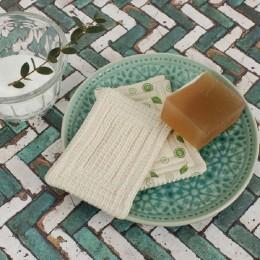 2 éponges vaisselle grattantes - Coton Bio