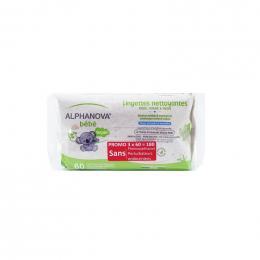 Lingettes bébé épaisses et extra douces - 100% d'origine végétale et biodégradable - 3x72