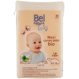 60 Maxi carrés bébé 100 % Coton
