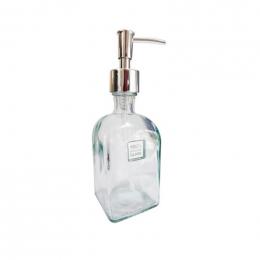 Distributeur de savon en verre recyclé