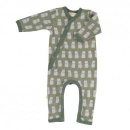 Pyjama kimono en coton BIO - Marmottes