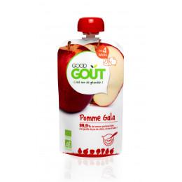 Gourde de fruit : pomme gala - 120 g - à partir de 4 mois