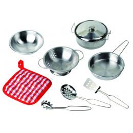 Set de cuisine en métal - à partir de 3 ans