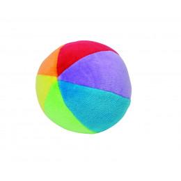 Ballon en veloursavechochet encotoncoloré - à partir de 3 mois