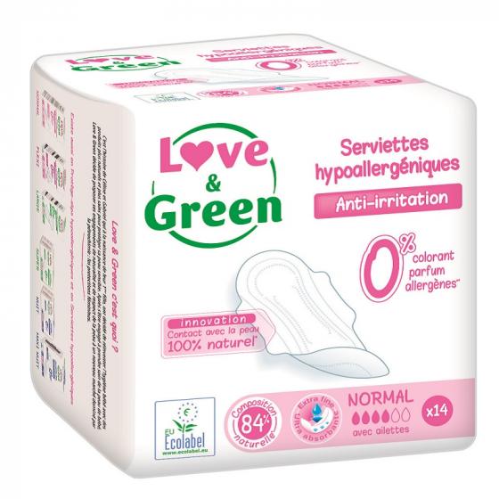 Serviette hygiénique écologique