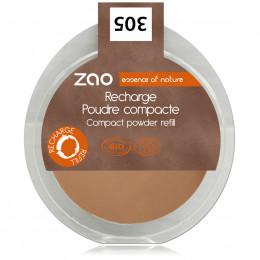 Navulling Compact Gezichtspoeder 305 (Melkchocolade)