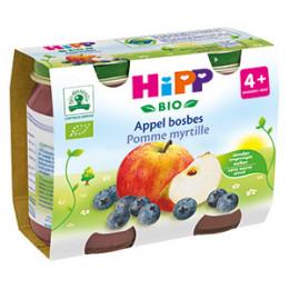 Appel bosbes Bio vanaf 4 maanden 2 x 190 g
