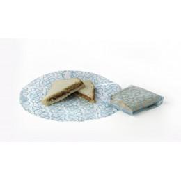 Kozy Wrap herbruikbare voedselverpakking Kristal Azuur (2 stuks)