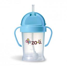 Zoli Bot Drinkbeker met rietje Blauw - 180ml