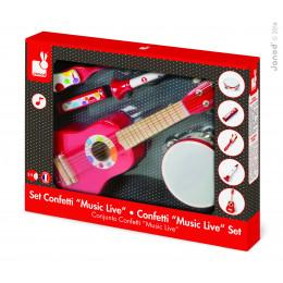 "Live muziek ""Confetti"" - vanaf 3 jaar"